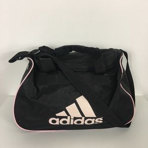 Adidas Black Duffle Gym Bag